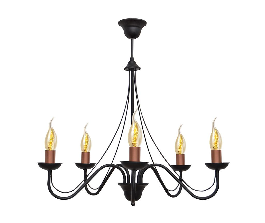 Candelabru Malbo Black Brass imagine