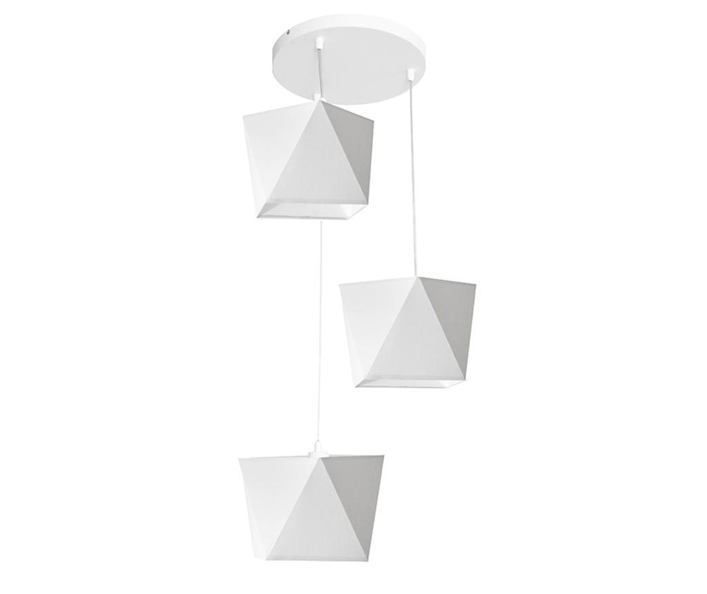 Lustra Adamant Three White - Helam, Alb imagine