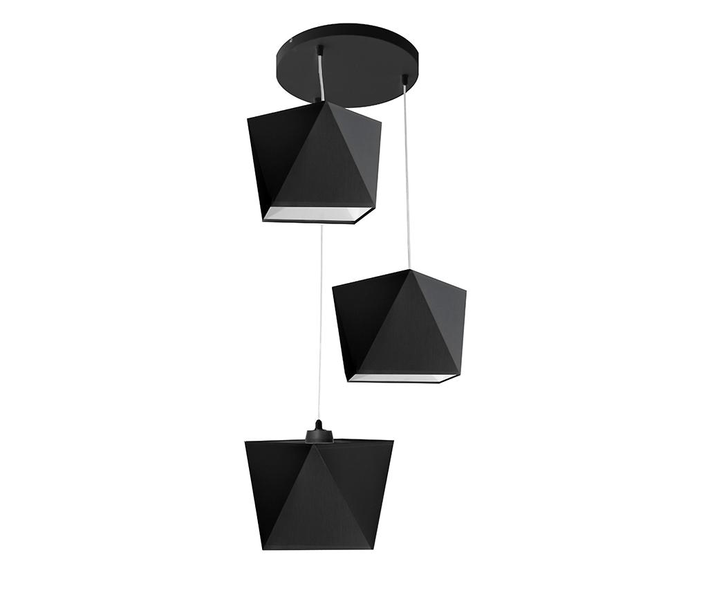 Lustra Adamant Three Black - Helam, Negru