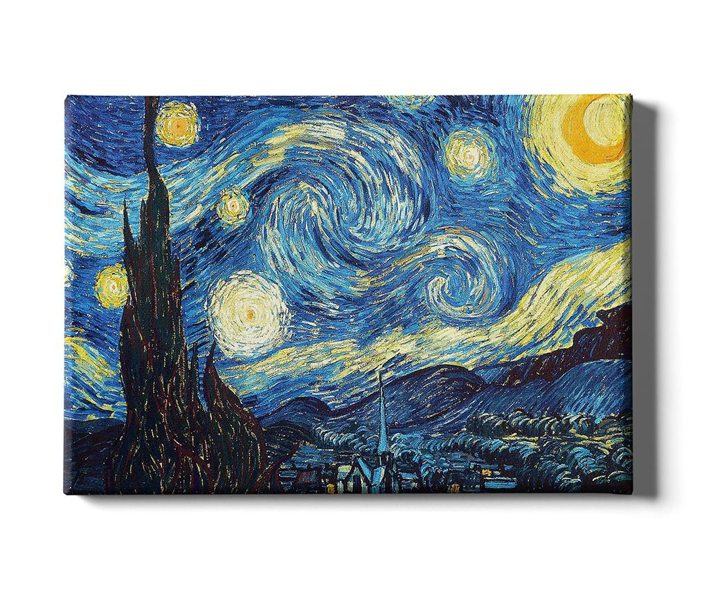 Tablou Starry Night 50x70 cm imagine