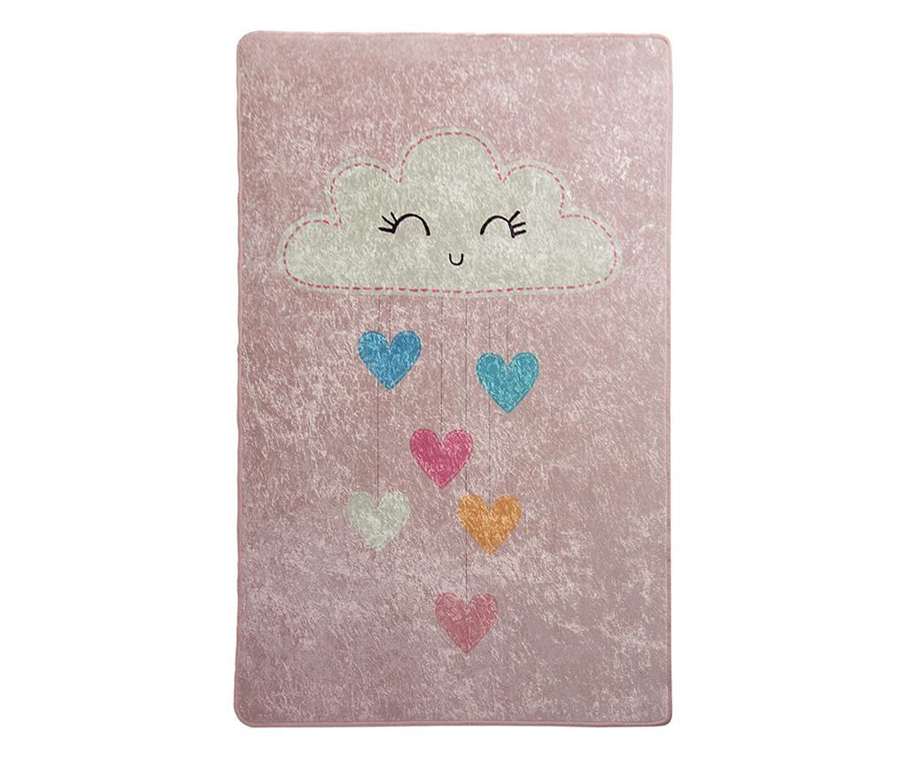 Covor Baby Cloud Pink 140x190 cm - Chilai, Multicolor