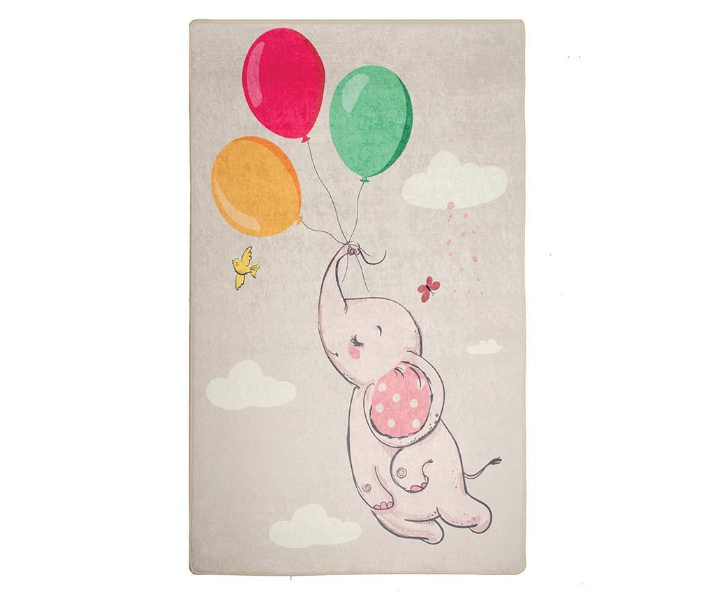 Covor Balloons Grey 140x190 cm - Chilai, Multicolor imagine