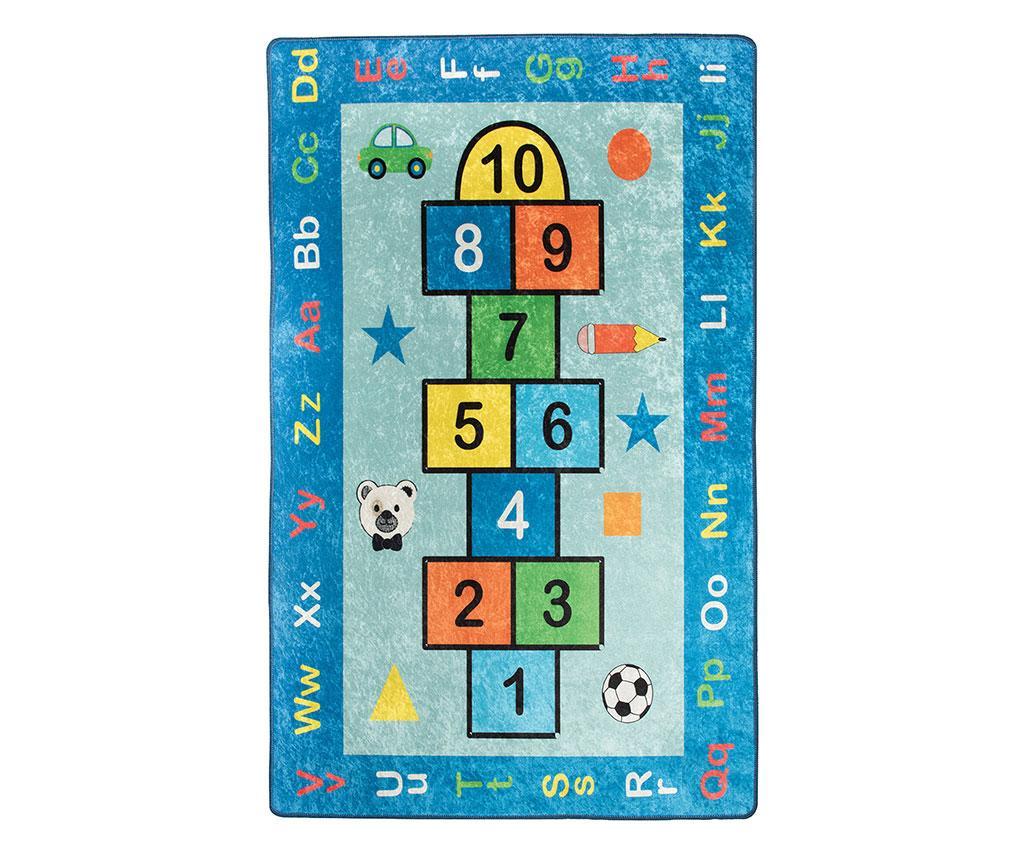 Covor de joaca Hopscotch 140x190 cm - Chilai, Multicolor imagine