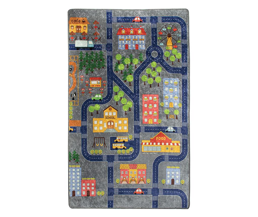 Covor de joaca Small Town 200x290 cm - Chilai, Multicolor imagine