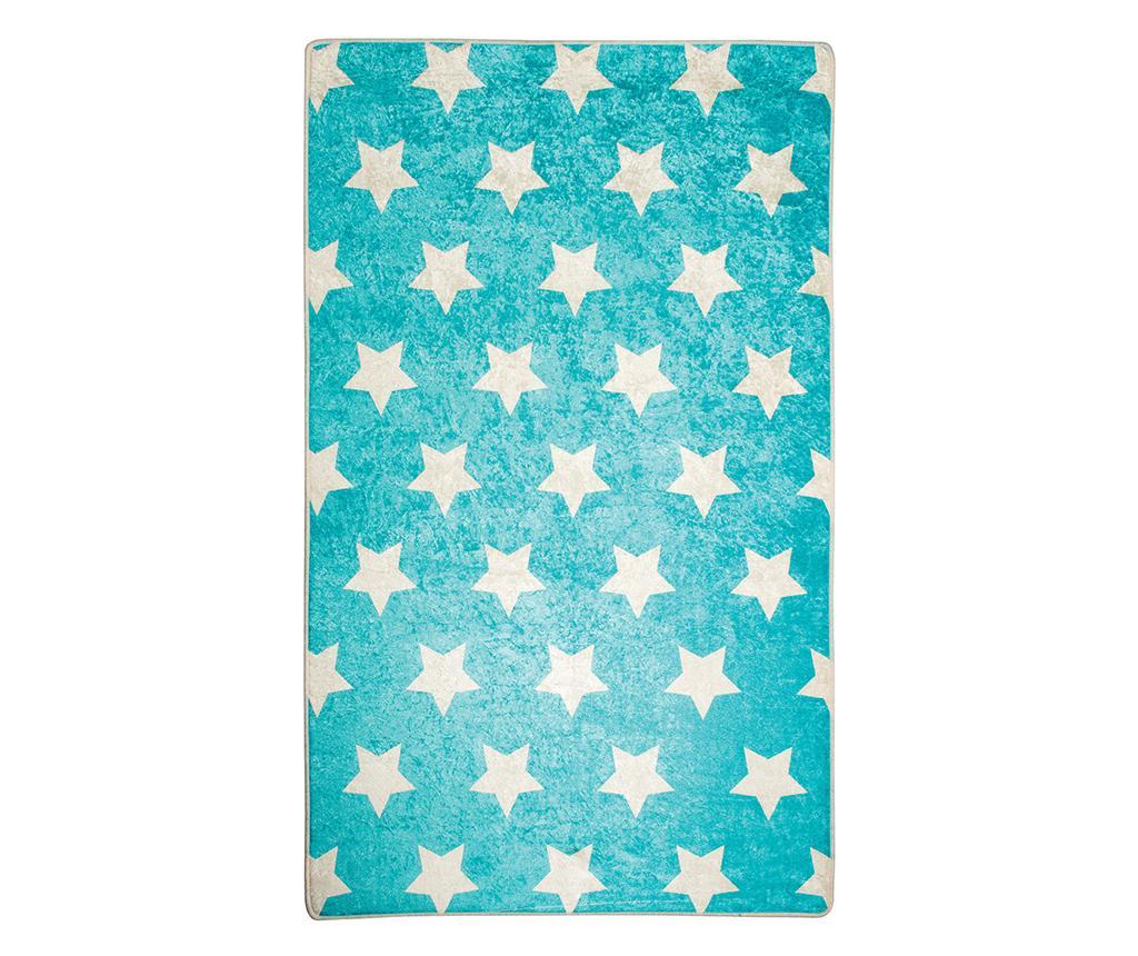 Covor Stars Blue 100x160 cm - Chilai, Albastru