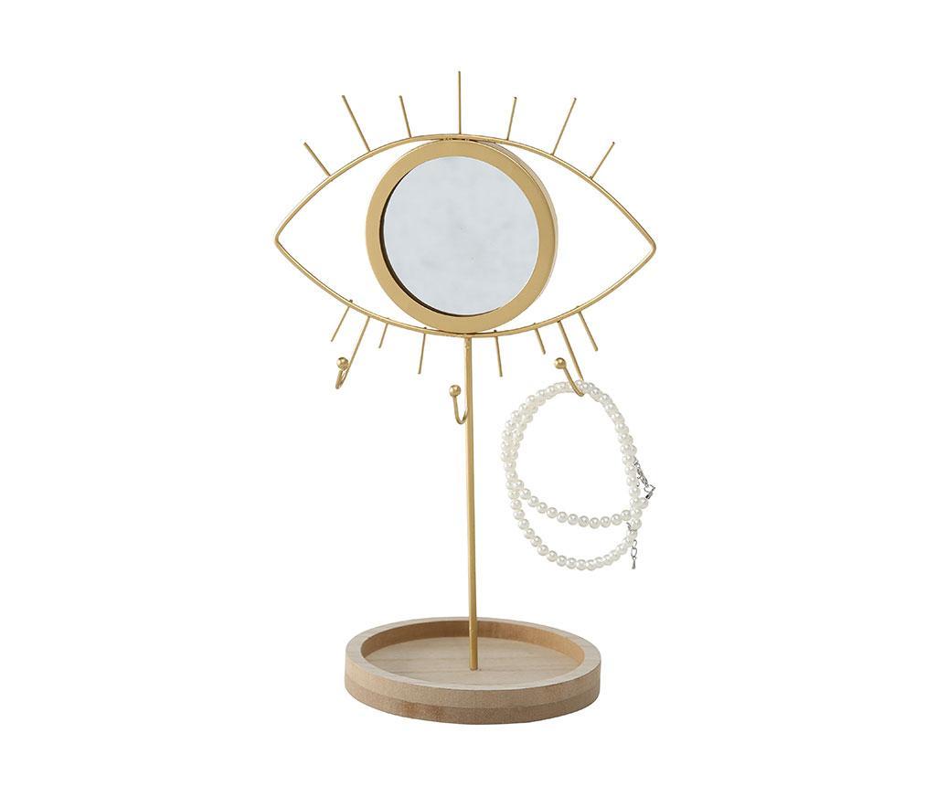Suport de bijuterii cu oglinda Eye