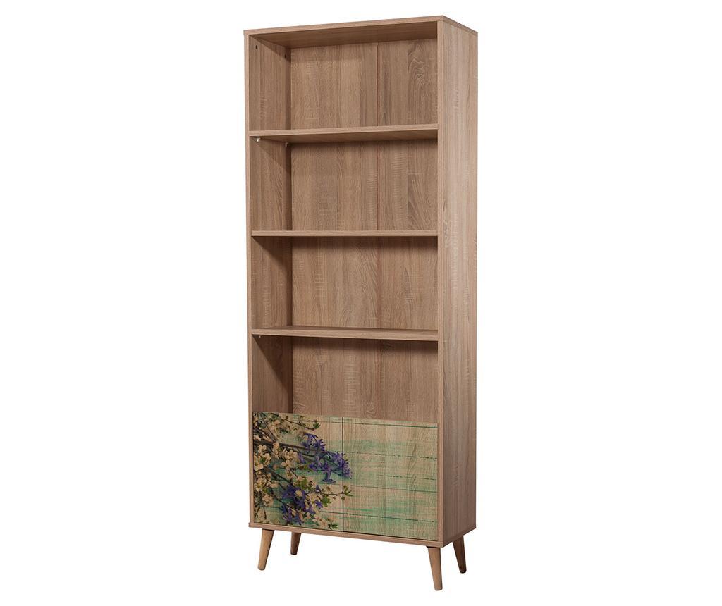 Corp biblioteca Booki Flowers - Vella, Crem