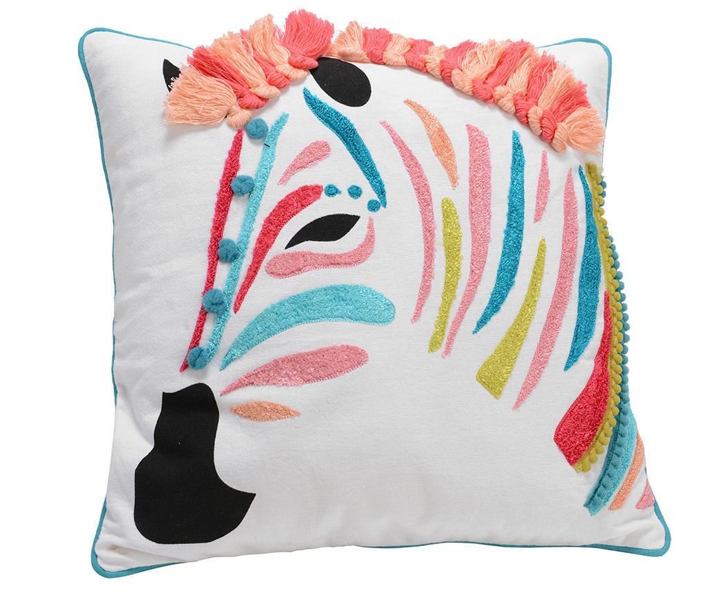 Perna decorativa Zebre Colore 40x40 cm imagine