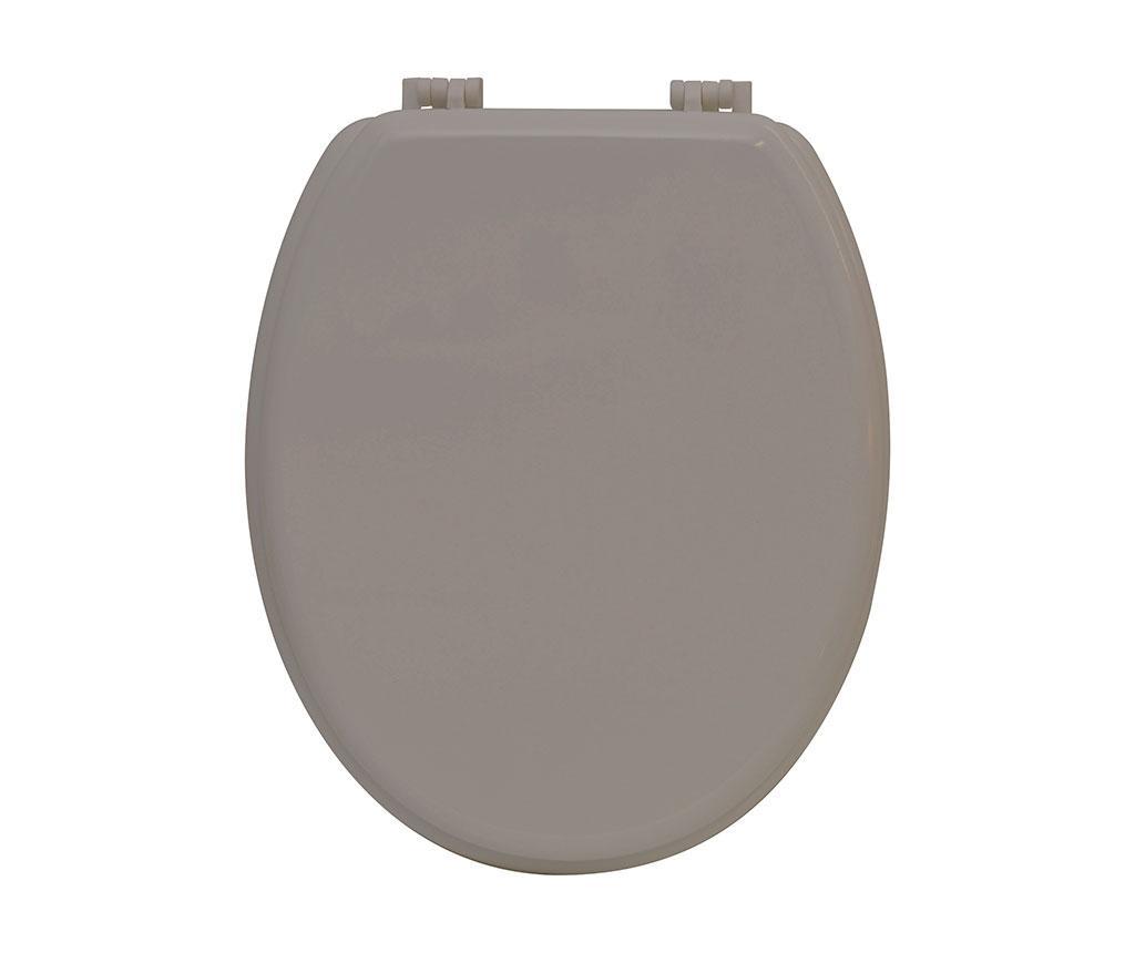 Capac de toaleta Simple Taupe imagine