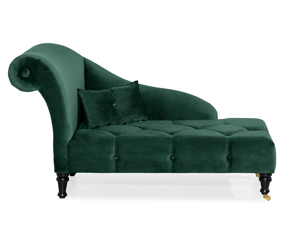 Sezlong living dreapta diYana Dark Green imagine