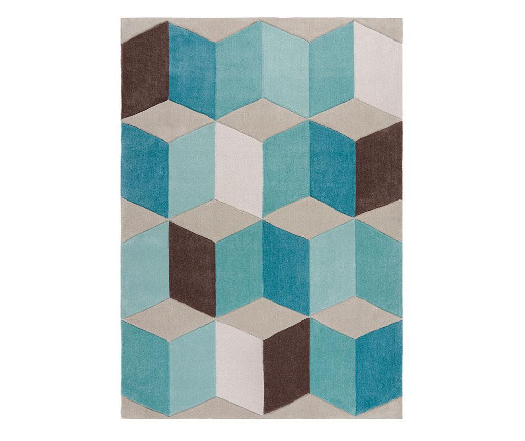 Covor Clearwater Teal 120x170 cm - Flair Rugs, Albastru imagine