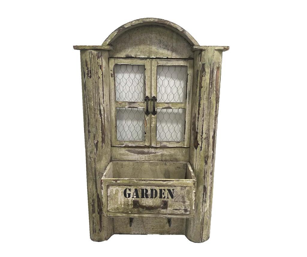 Decoratiune cu ghiveci Garden - Garden Pleasure, Crem imagine