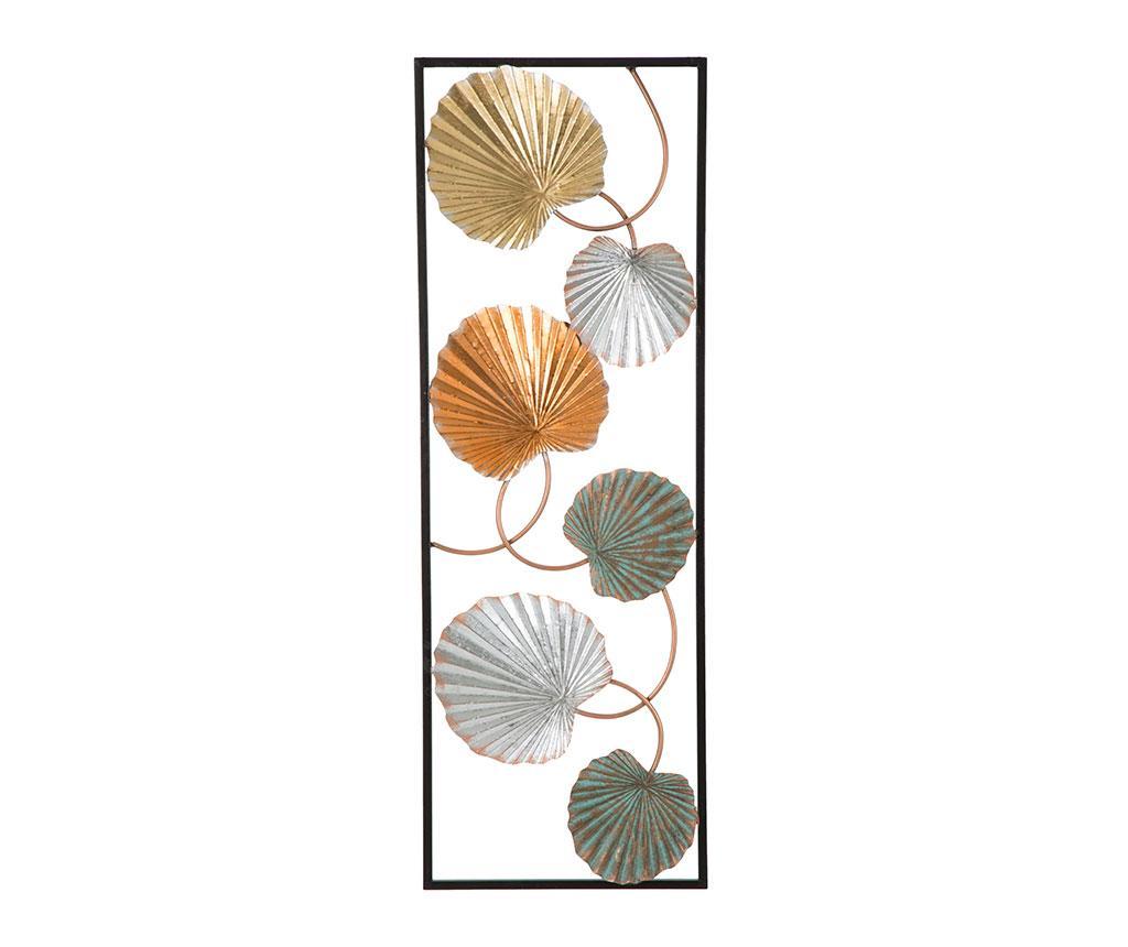 Decoratiune de perete Lopps Frame Style - Mauro Ferretti, Galben & Auriu