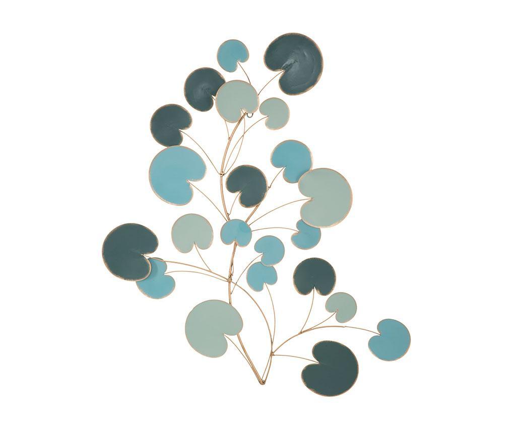 Decoratiune de perete Apple Lines - Mauro Ferretti, Galben & Auriu poza