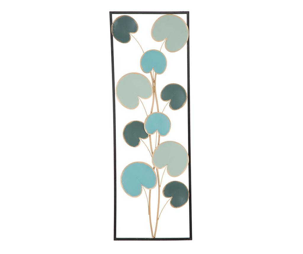 Decoratiune de perete Apple Frame - Mauro Ferretti, Galben & Auriu