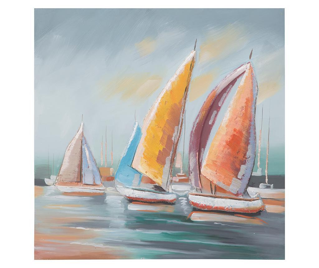 Tablou Sidney 80x80 cm - Mauro Ferretti, Multicolor imagine