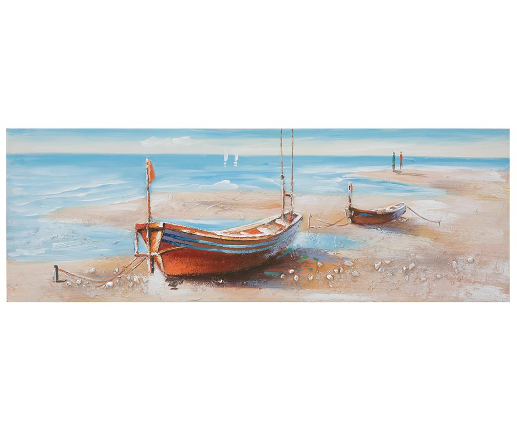 Tablou Barca 50x150 cm vivre.ro