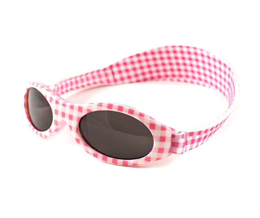 Ochelari de soare copii Banz Bubzee Lily Pink 2-5 ani