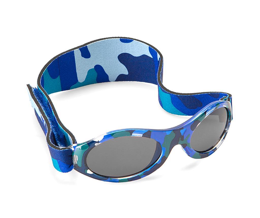 Ochelari de soare copii Banz Bubzee Sky Blue Camo 2-5 ani