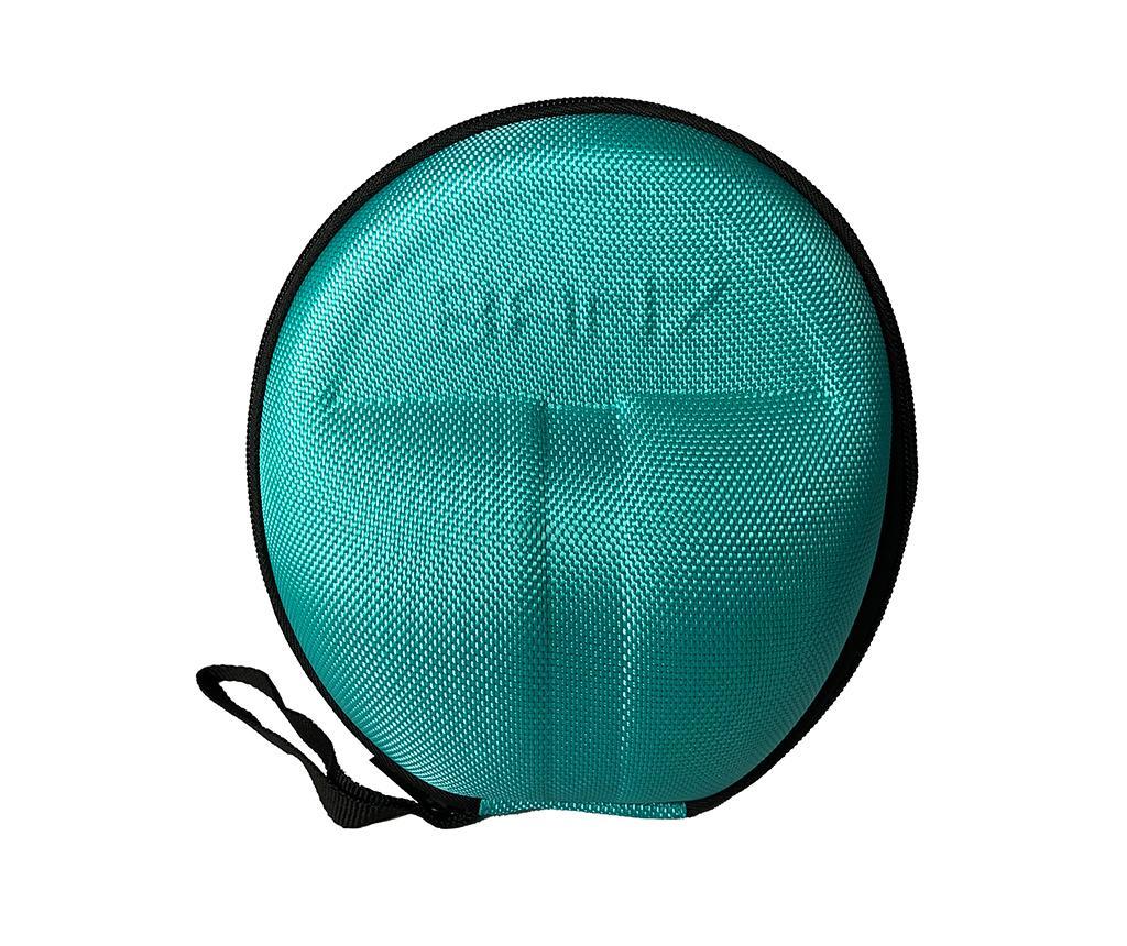 Husa pentru casti Banz Bubzee Aqua Blue