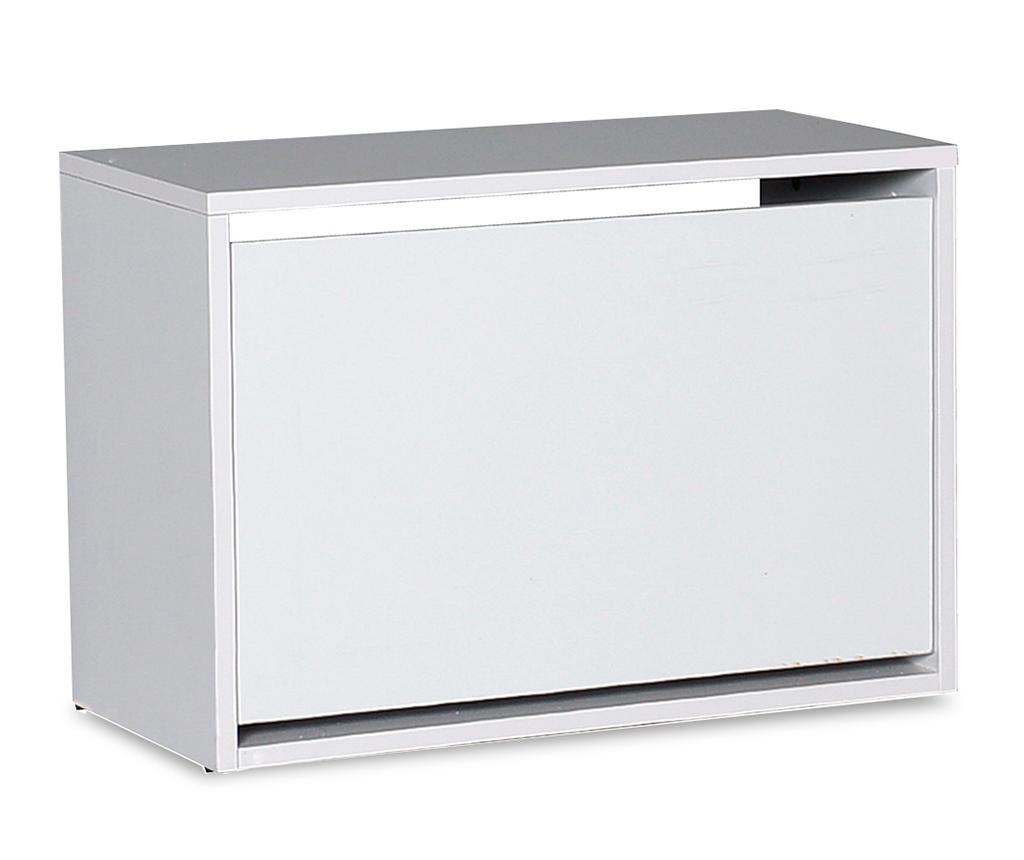 Pantofar Box White - PAKOWORLD, Alb imagine