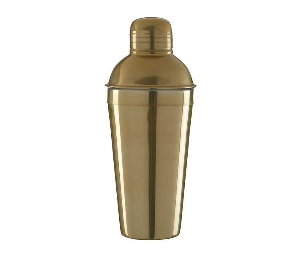 Shaker cocktail Mixology 500 ml - Premier, Galben & Auriu