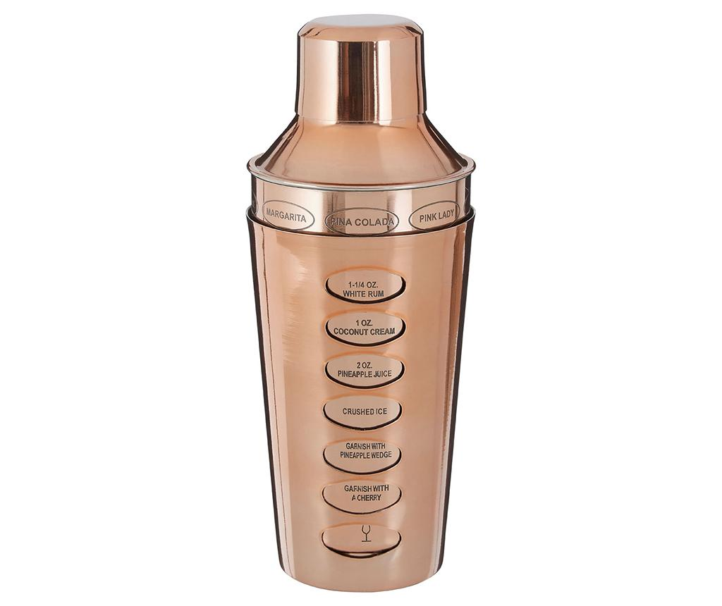 Shaker cocktail Recipe Rose Gold 500 ml imagine
