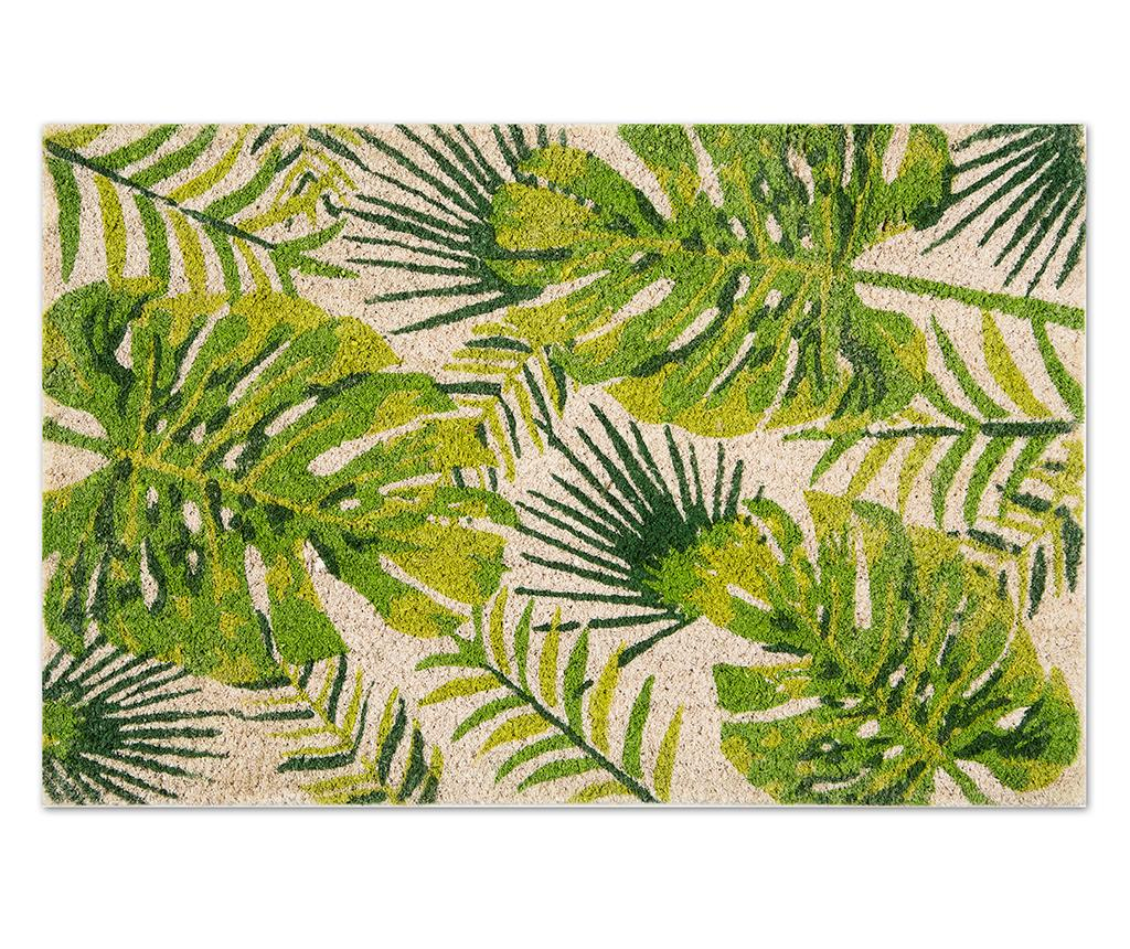 Covoras de intrare Foliage 40x60 cm - Excelsa, Verde imagine