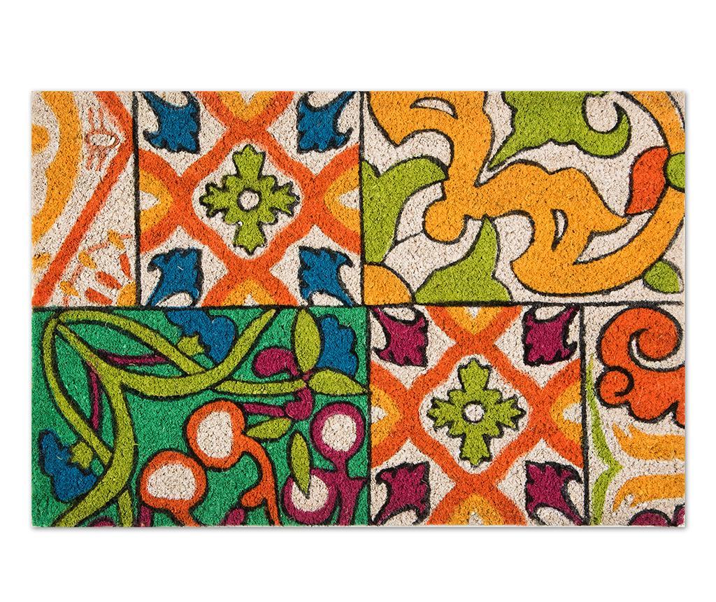 Covoras de intrare Lisabona 40x60 cm - Excelsa, Multicolor