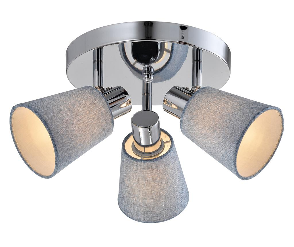 Plafoniera Pin - Candellux Lighting, Gri & Argintiu imagine
