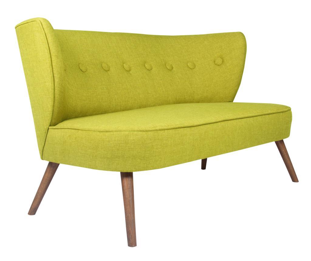 Canapea 2 locuri Josephine Pistachio Green - Z10 Desing, Verde imagine