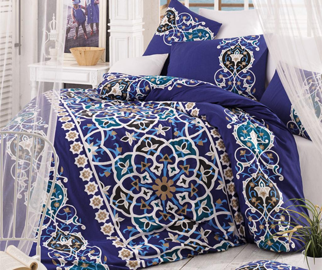Lenjerie de pat Double Ranforce Mosaic Purple vivre.ro