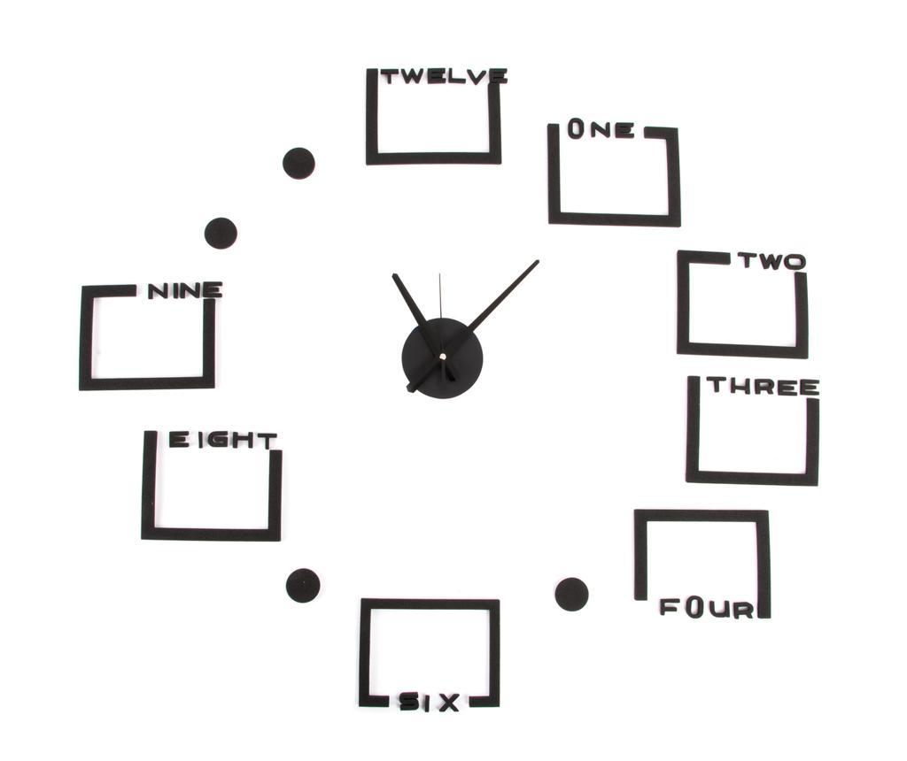 Ceas de perete cu 8 rame pentru fotografii Puzzle