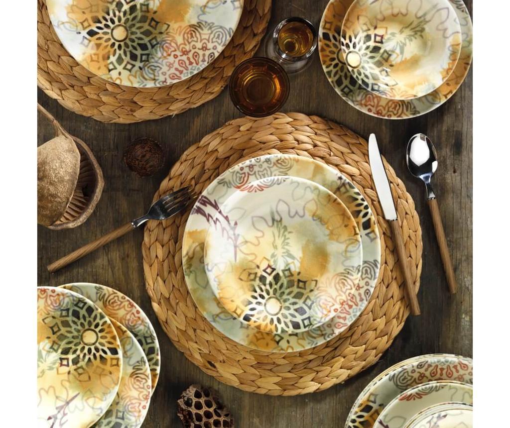 Set de masa 24 piese Dinner Jocelyn - Kütahya Porselen, Multicolor imagine