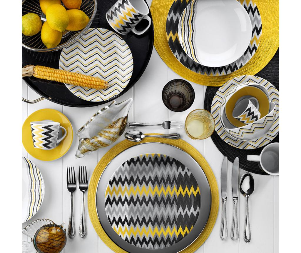 Set de masa 24 piese Dinner Jodi - Kütahya Porselen, Multicolor imagine