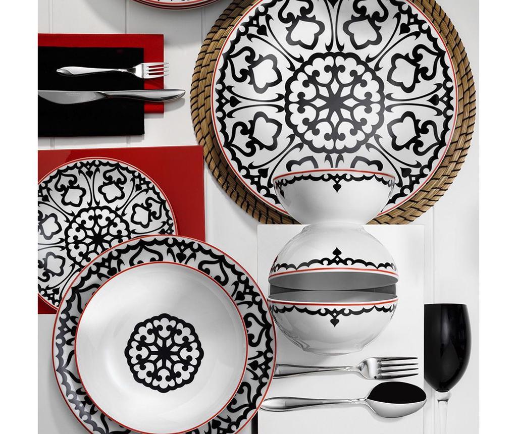Set de masa 24 piese Dinner Danielle - Kütahya Porselen, Multicolor imagine