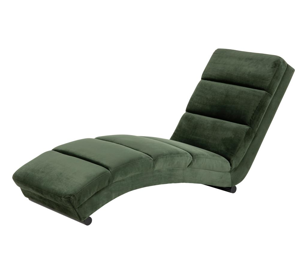 Sezlong living Slinky Green - actona, Verde imagine