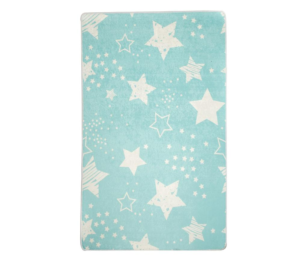 Covor Stars Blue 140x190 cm - Chilai, Albastru