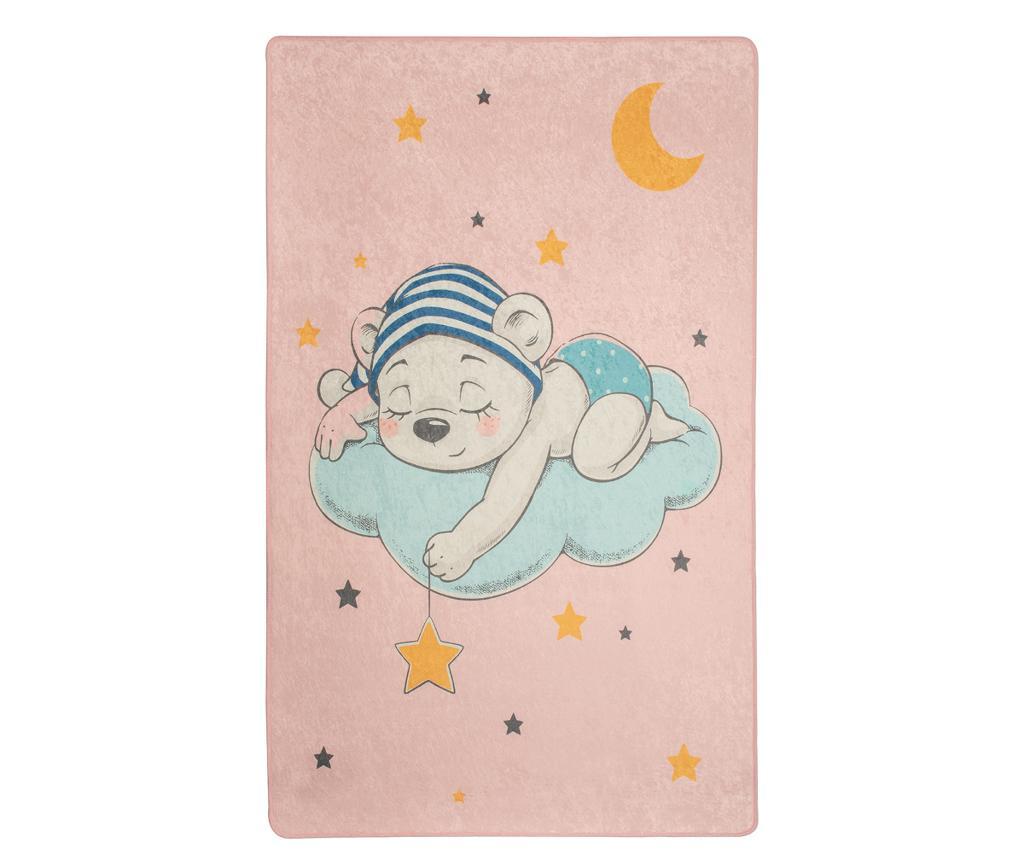 Covor Sleepy Teddy 100x160 cm - Chilai, Multicolor
