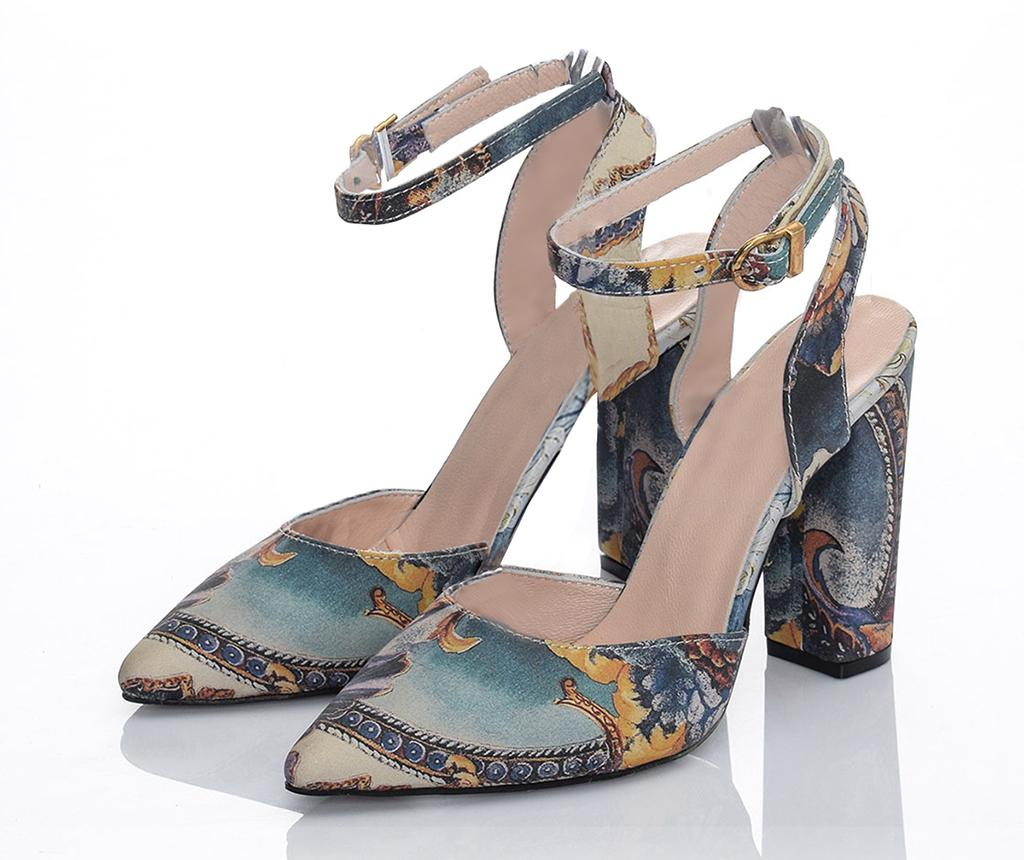 Sandale dama Art Heel 37 - Los Ojo, Multicolor imagine
