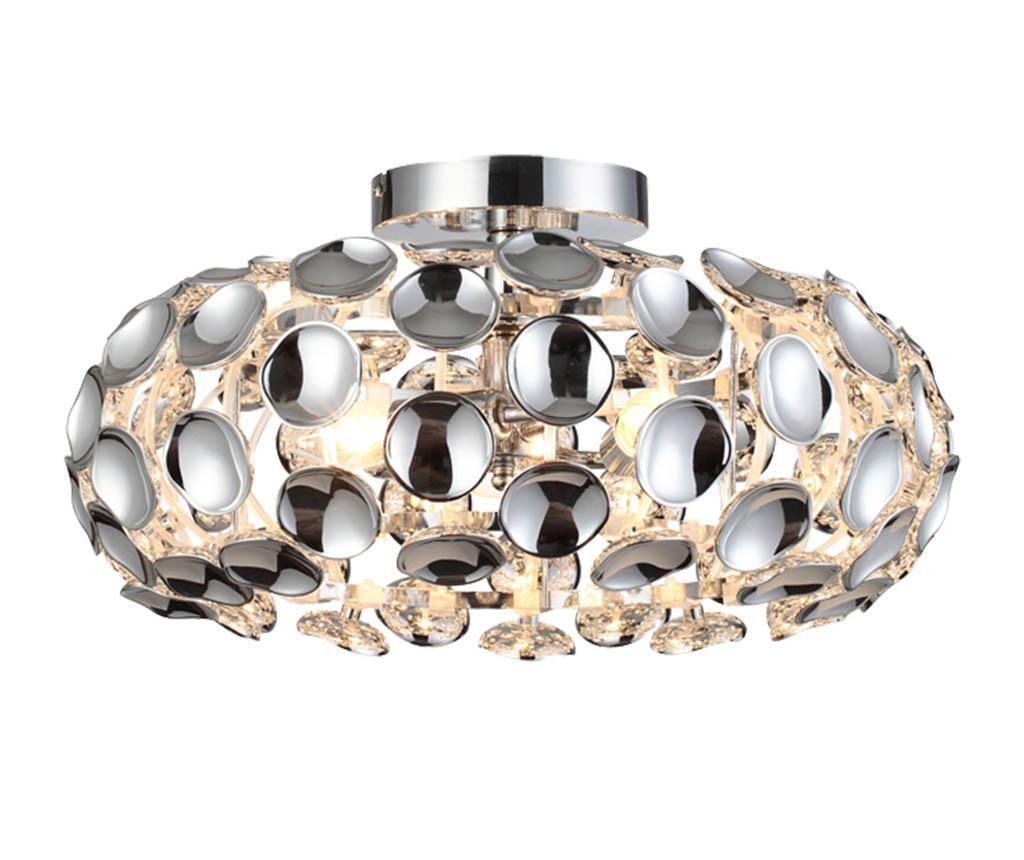 Lustra Ferrara - Light Prestige, Gri & Argintiu poza noua