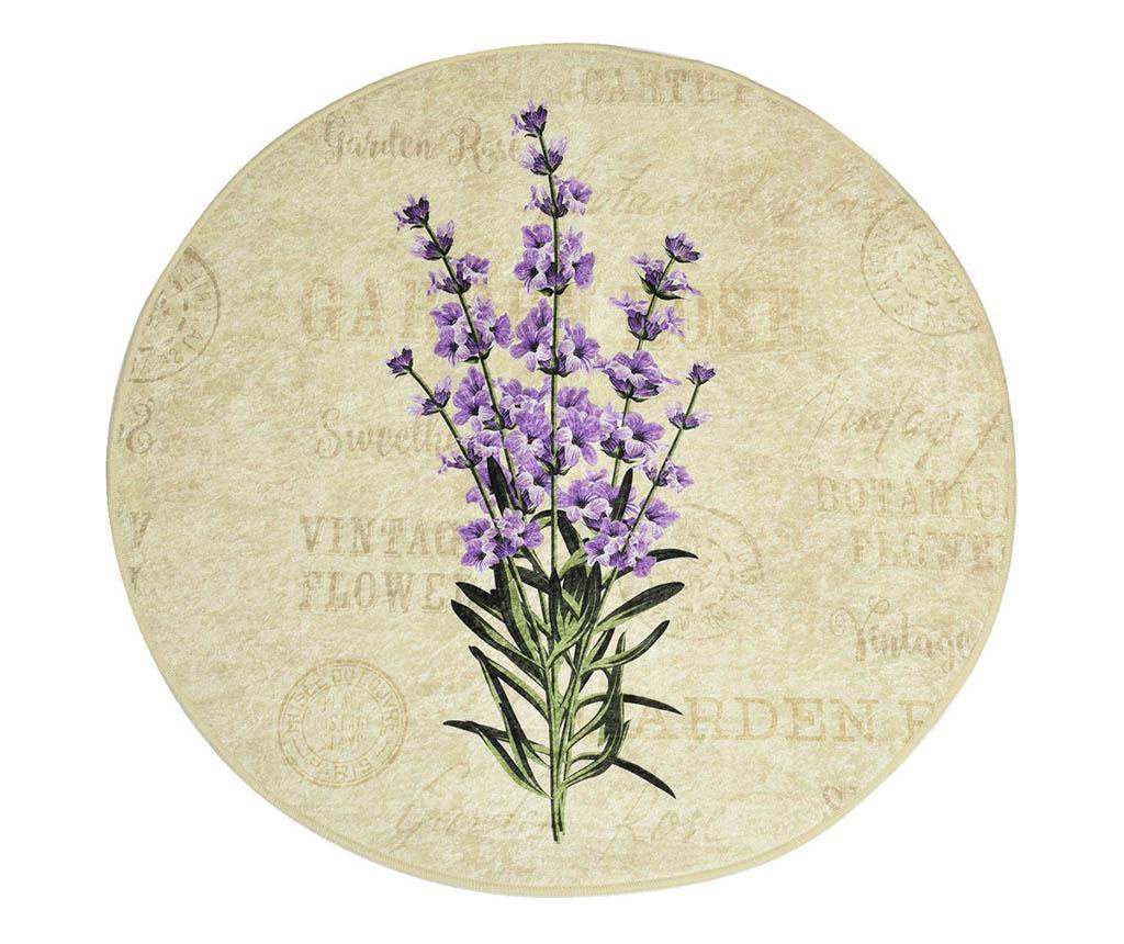 Covoras de baie Lavender 100 cm imagine
