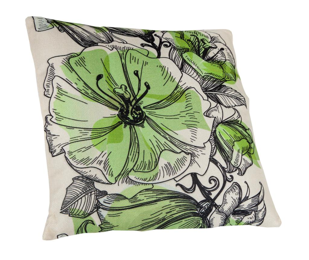 Perna decorativa Floralis Green 45x45 cm