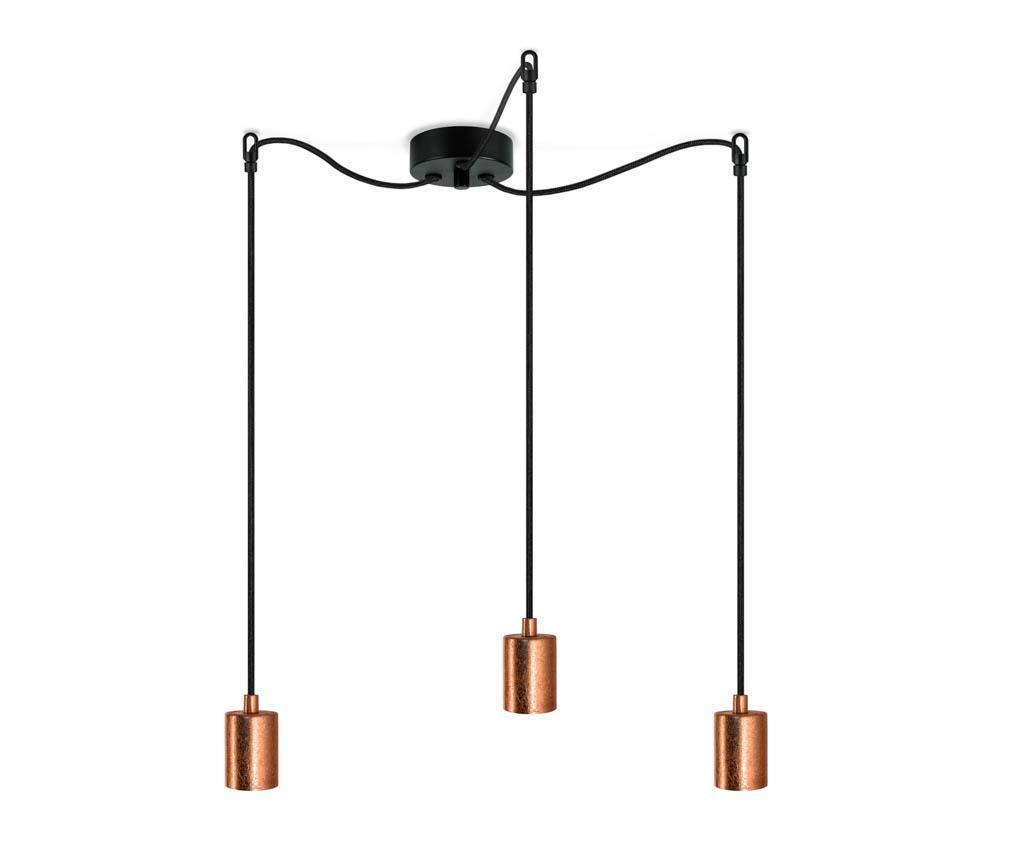 Lustra Cero Three Copper - Bulb Attack, Galben & Auriu