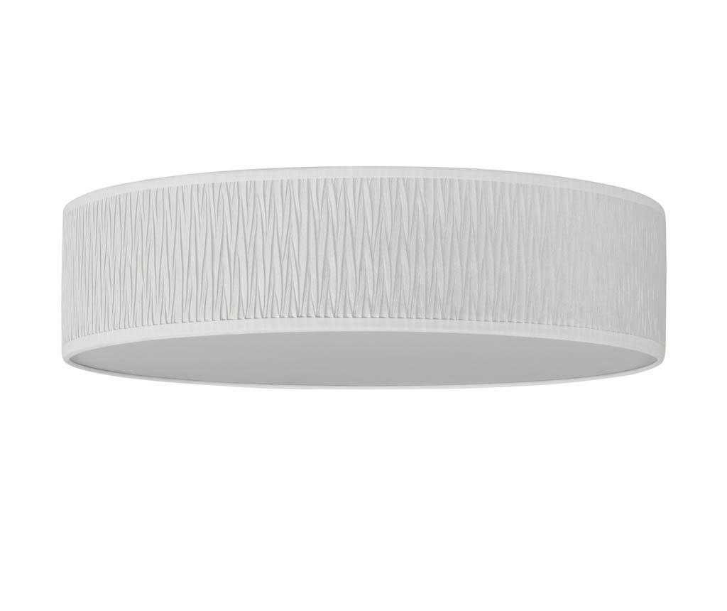 Plafoniera Once Wave White - Bulb Attack, Alb imagine