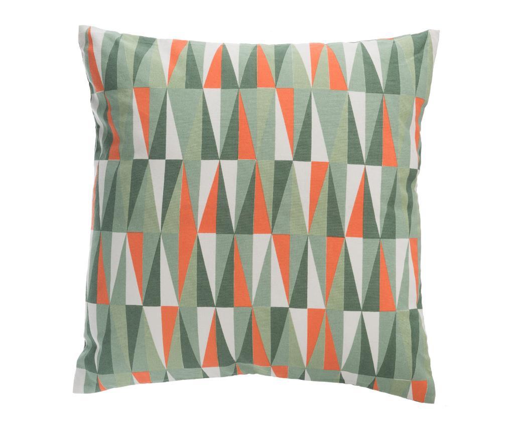 Perna decorativa Triangle Slim 50x50 cm - J-line, Multicolor poza