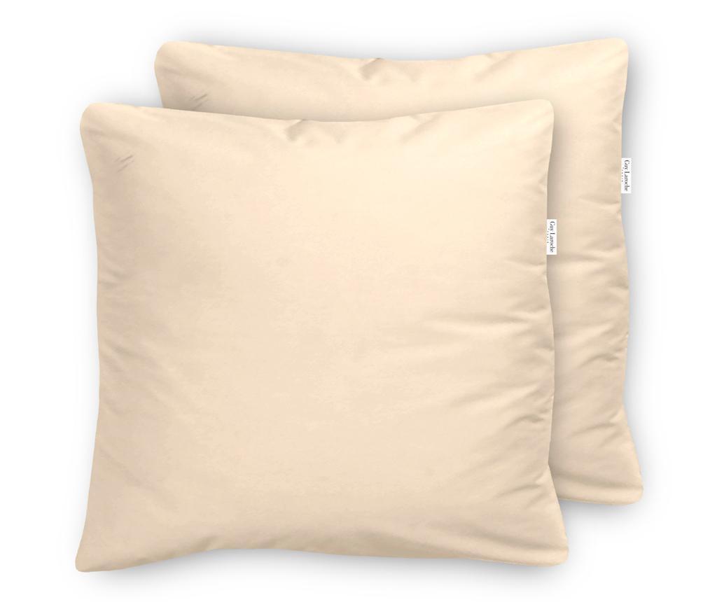 Set 2 fete de perna Percale Pure Cream - Guy Laroche Home, Crem