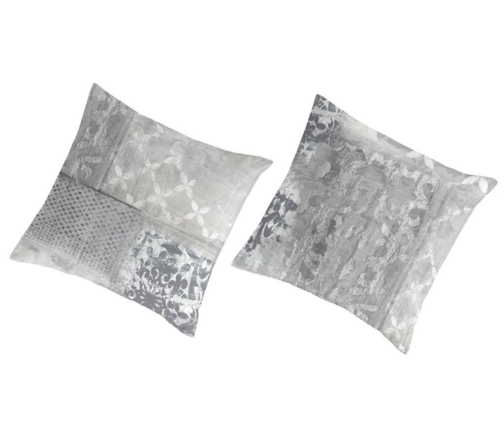 Set 2 fete de perna Percale Ariane White imagine