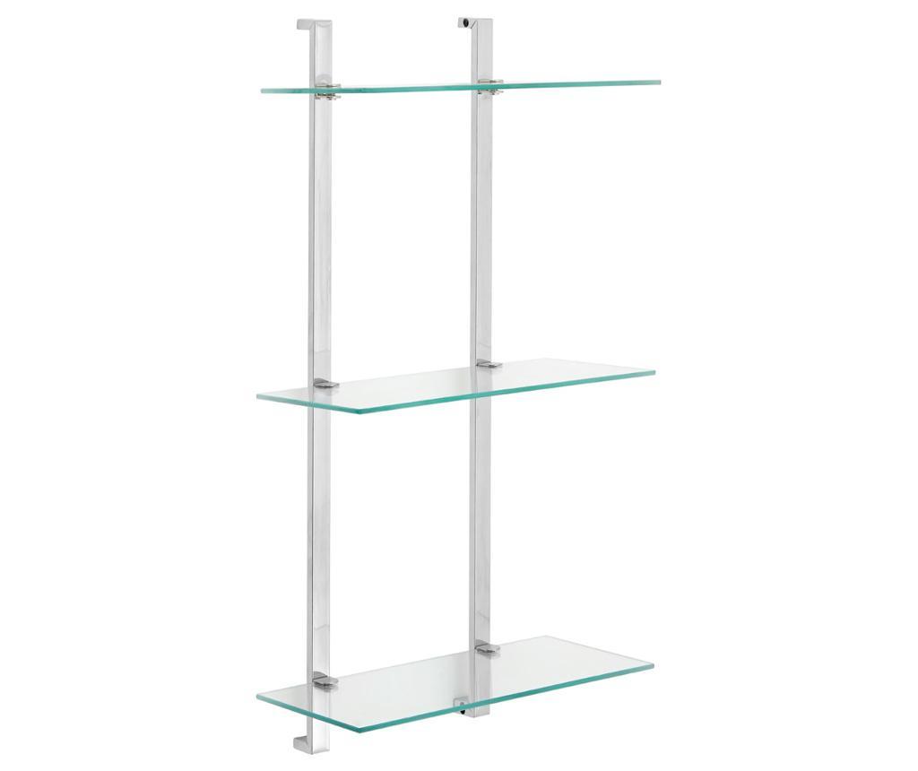 Suport accesorii de baie Modern Tall - Premier, Gri & Argintiu imagine