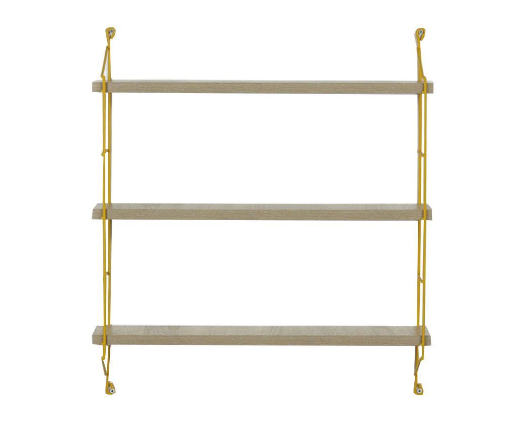 Raft de perete Illia Ladder Cream - Mingitav, Crem